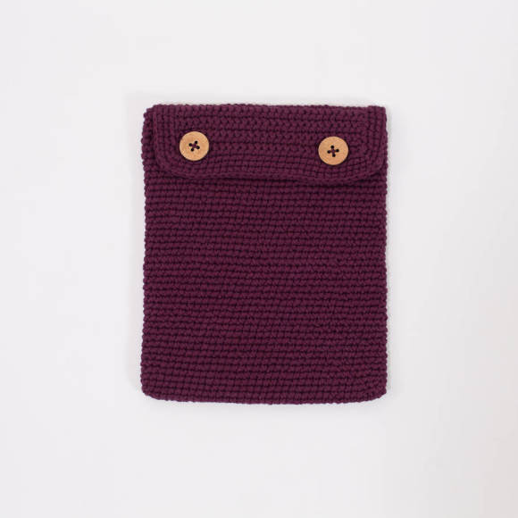 Aubergine iPad Case