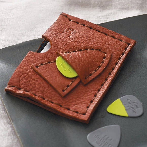 two plectrum holder