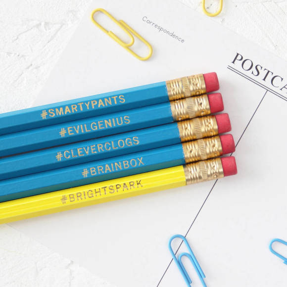 Pencils for clever sorts (set of 5)