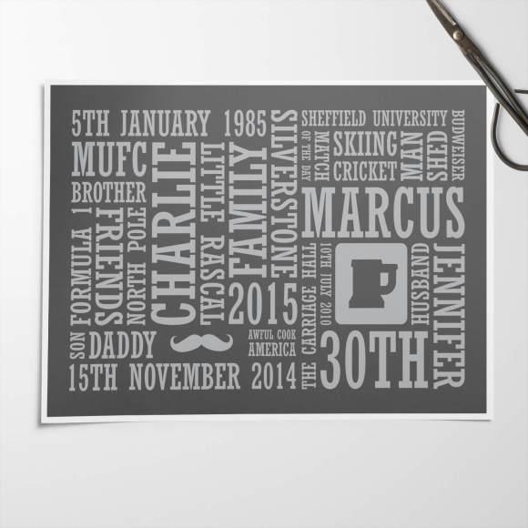 Unframed Print - Charcoal