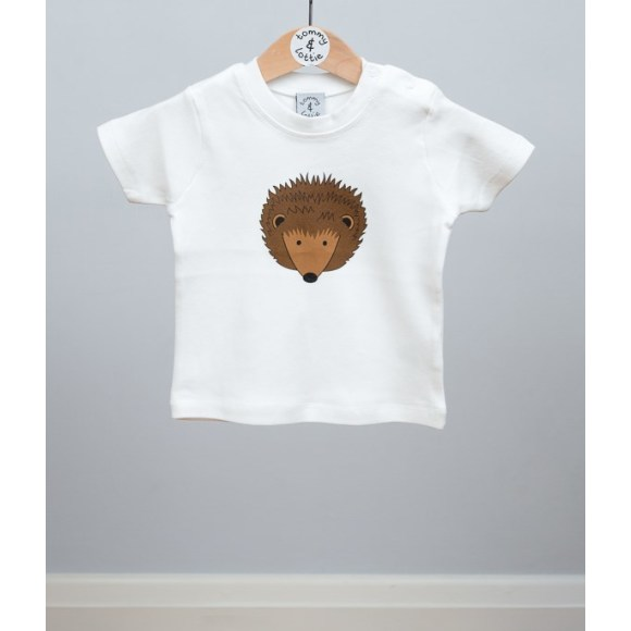 baby short sleeve hedgehog t shirt