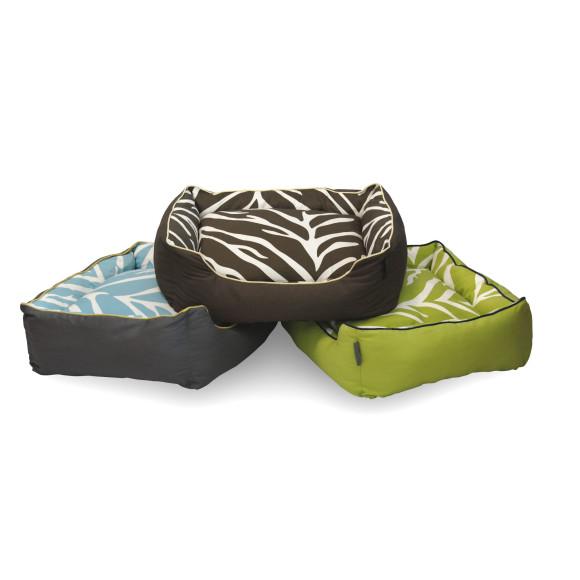 Zebra Dog Bed Stack