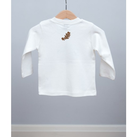 baby long sleeve hedgehog t shirt (back)