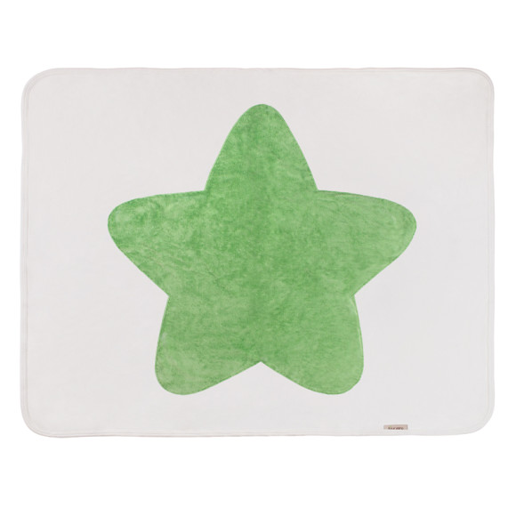 Moss Green baby Star Blanket