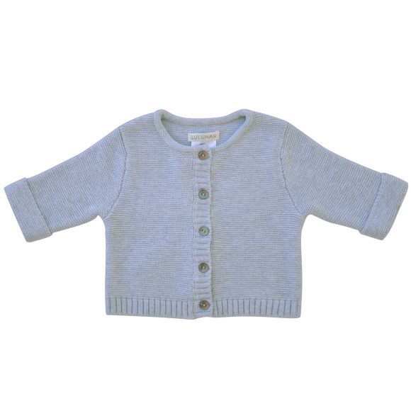 grey marle cardi front