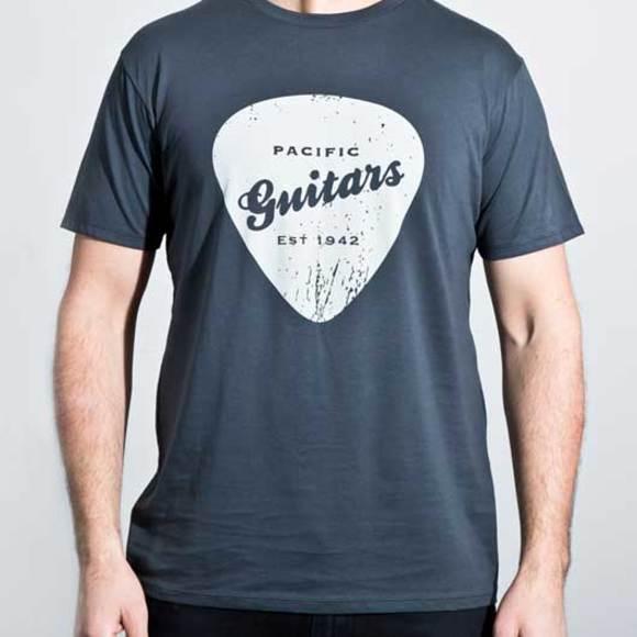Organic cotton men's charcoal t-shirt