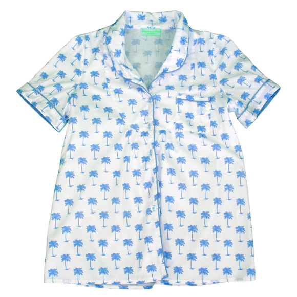 Cotton PJ Shirt
