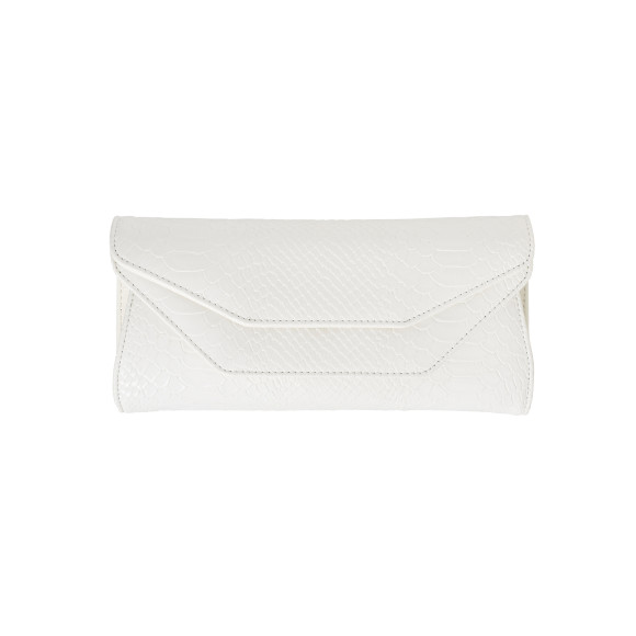 Madison clutch white