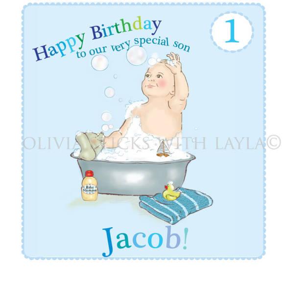 Birthday card boys