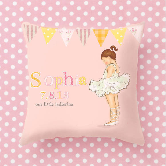 Ballerina Cushion
