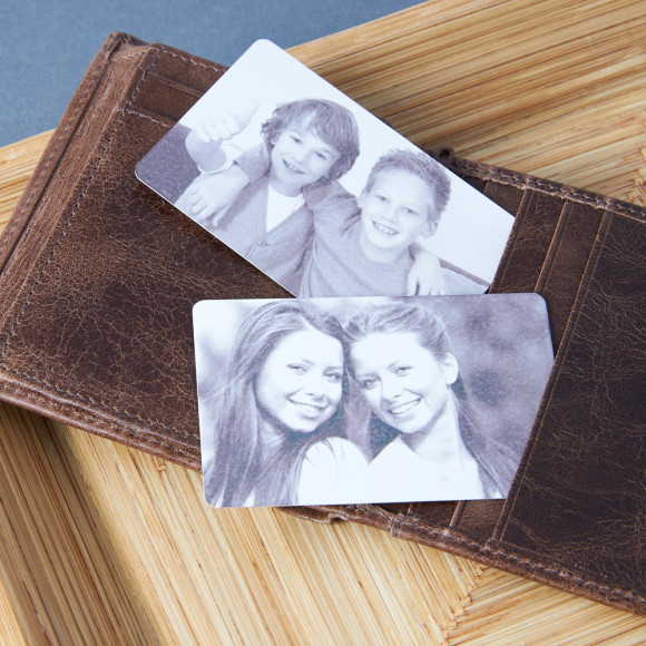 Photo wallet card for dad