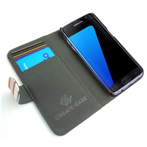 Celebration Striped Smartphone Wallet Case