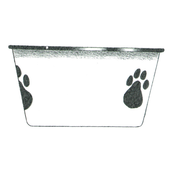 dog bowl 2 paws