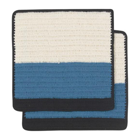 Sasha Crochet Dishcloths Delft