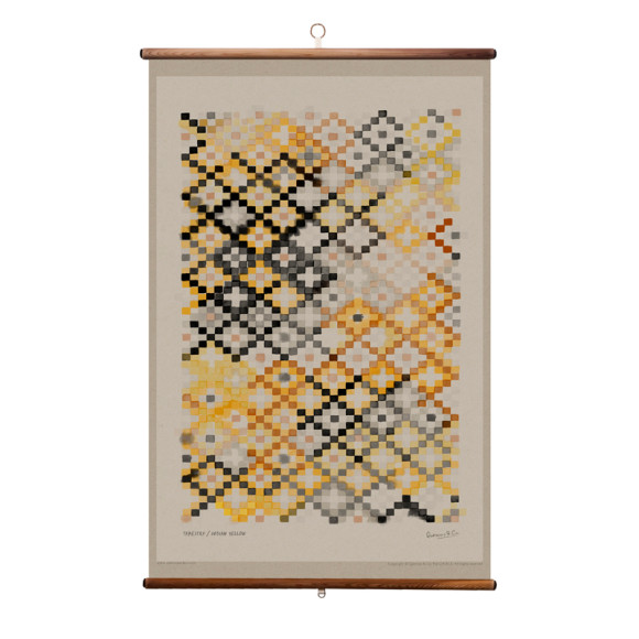 Indian Yellow - 70 x 100cm