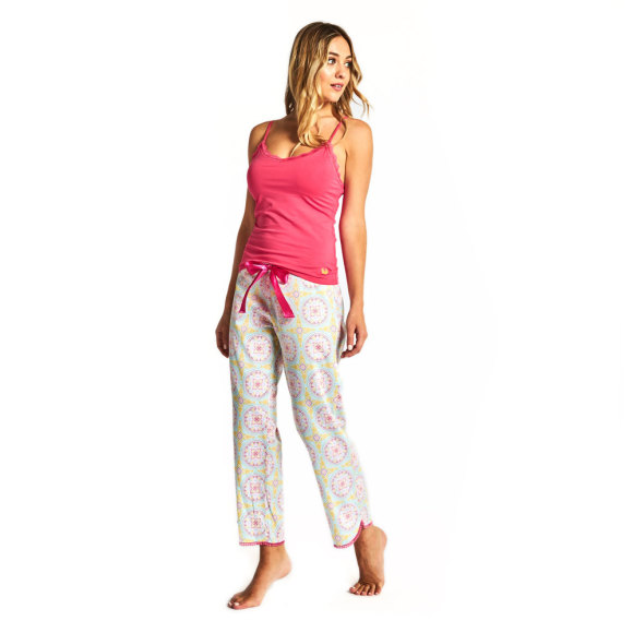 Marrakech Cropped PJ Pant