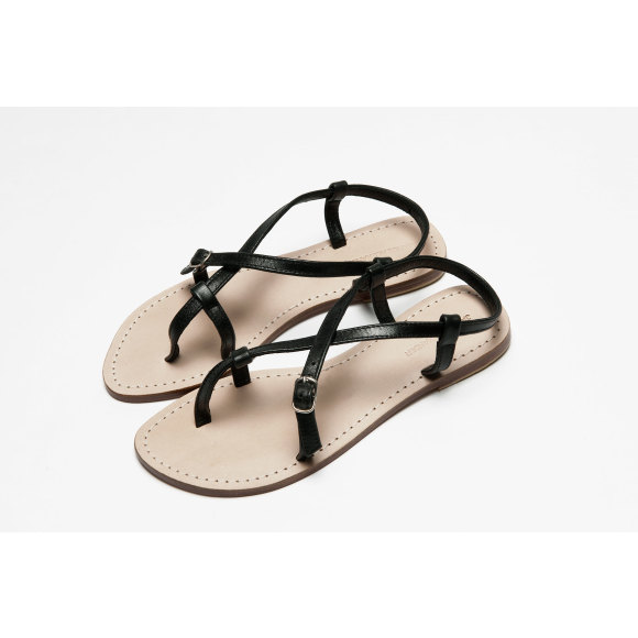 Piana Sandal Black