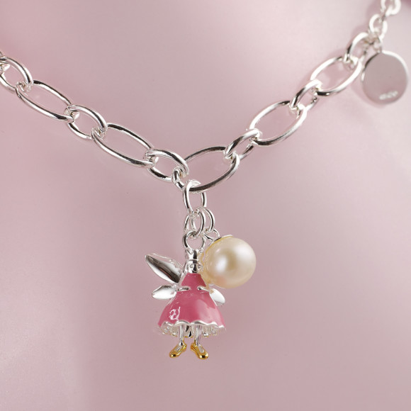 Pink Fairy Wish Bracelet.