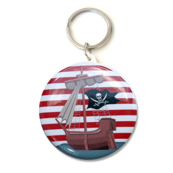 Pirate bag tag