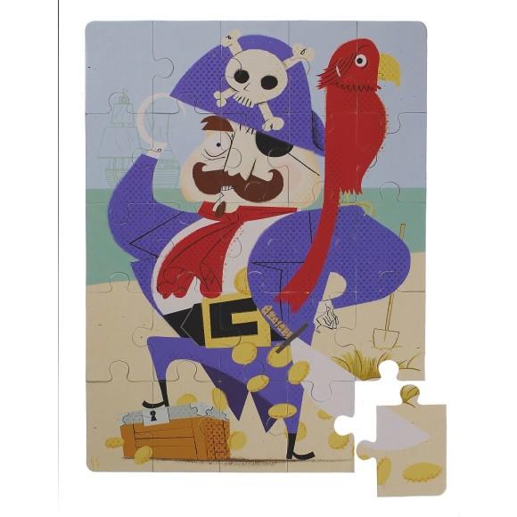 Glottogon Pirate puzzle age 3 years+