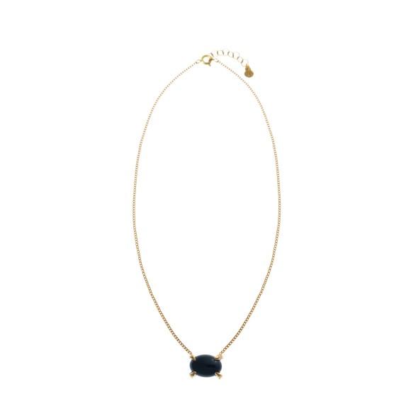 Hissia black onyx Sira necklace
