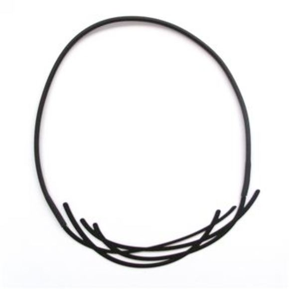 Nest-Necklace-Black