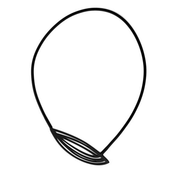 pod-necklace-black