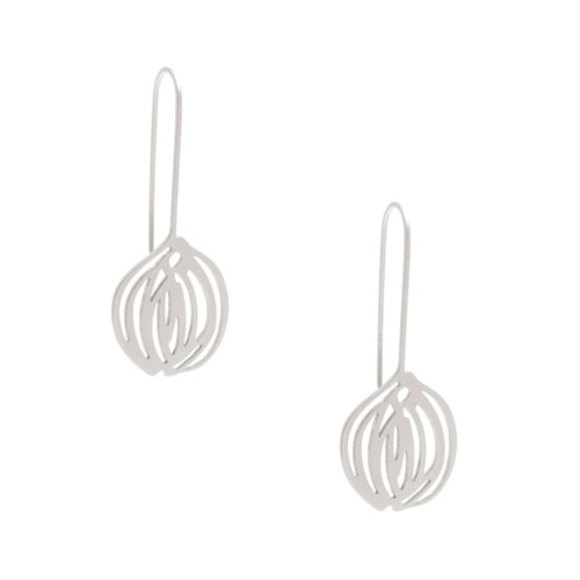 bulb earrings-raw
