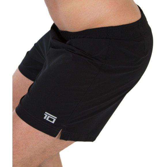 The Black Performance Shorts - Side view