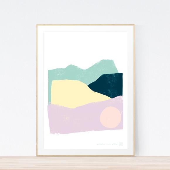 Springtime Art Print (Framed)