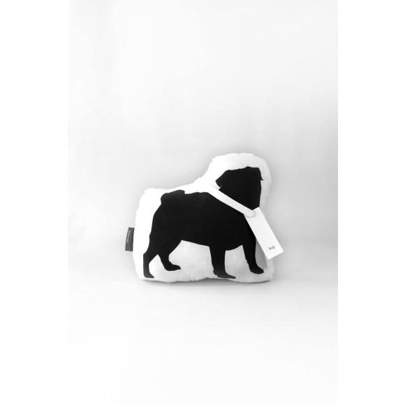 Pug in Black