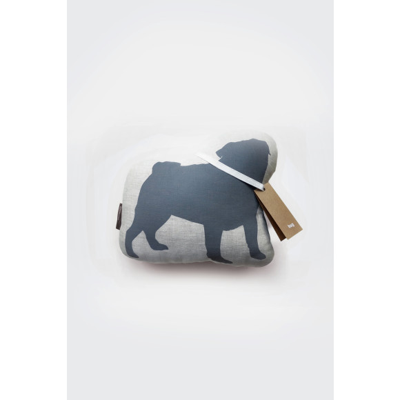 Pug in Grey