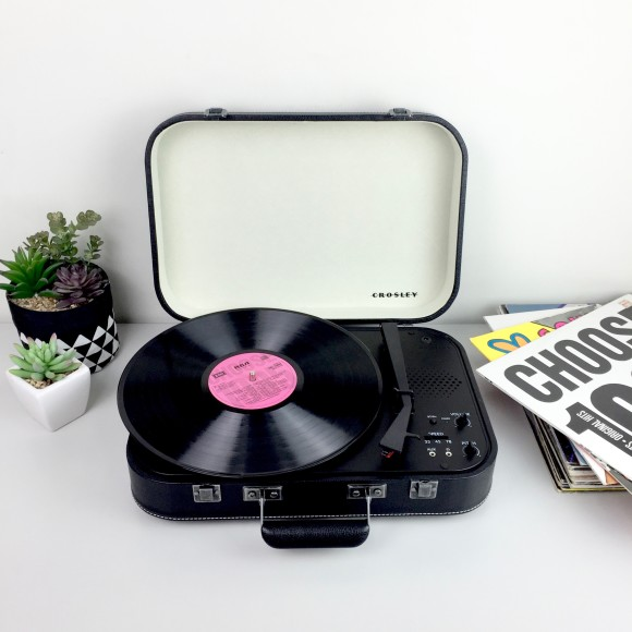 Crosley Coupe Turntables - Black