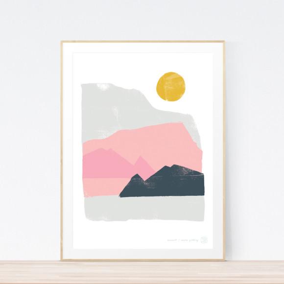 Summit Art Print Framed