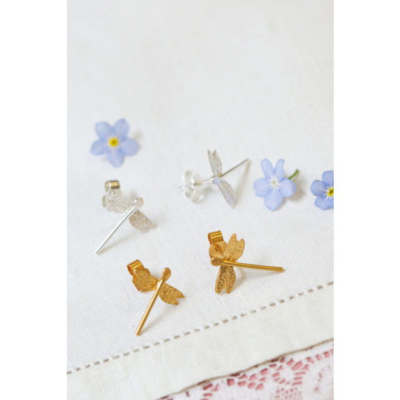 Amanda Coleman Dragonfly Studs both options