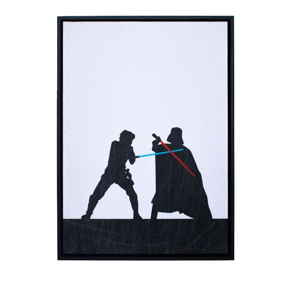 The Duel - Black Frame