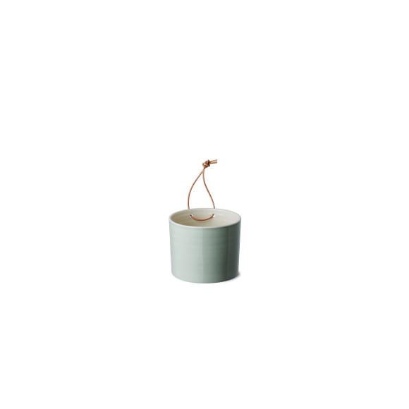 Jade green wall vase