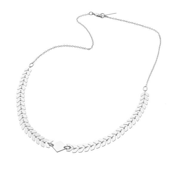 Andromeda Necklace Silver