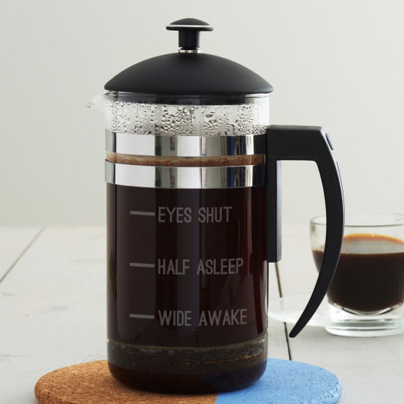 Half Asleep Measures Cafetiere