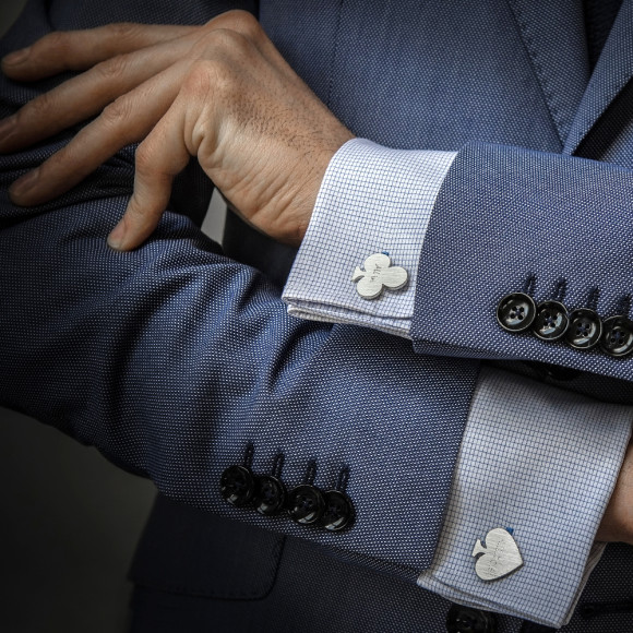 Personalised cufflinks for him