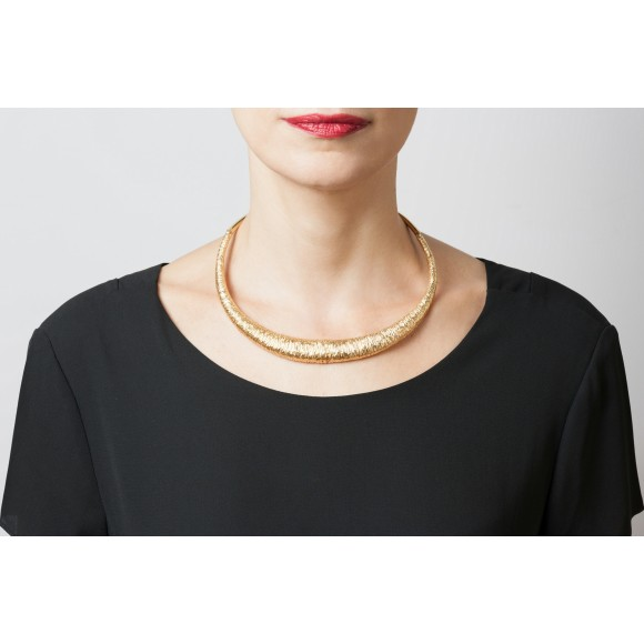 Hissia Marrakech statement necklace
