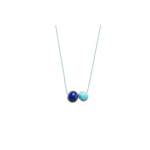 cobalt blue/turquoise
