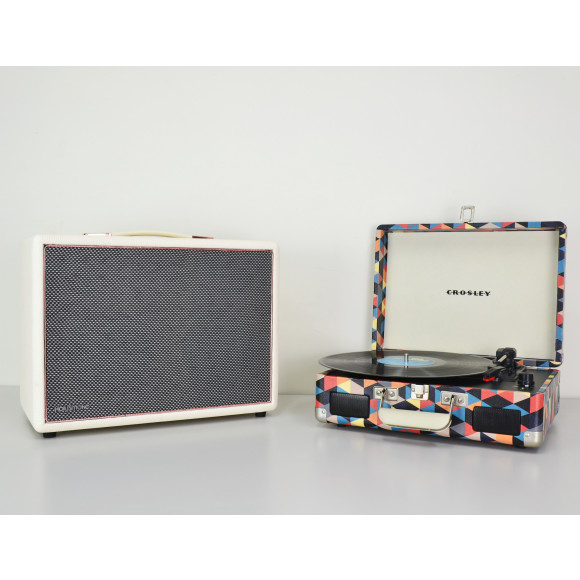 White with FREE Crosley Cruiser 2 Triangle