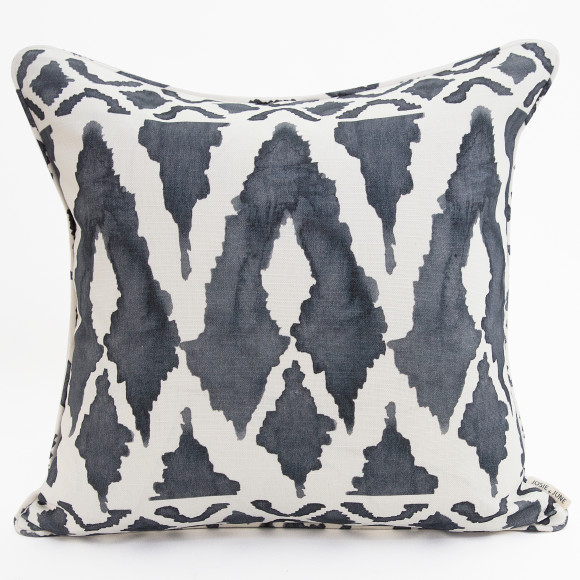 Spearhead Cushion in storm blue