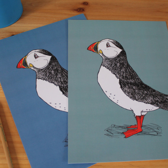 Puffin Billy Print Mixed