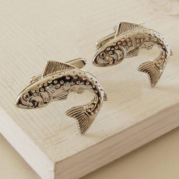 Leaping Fish Cufflinks