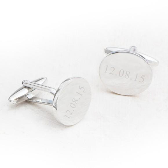 oval cufflinks
