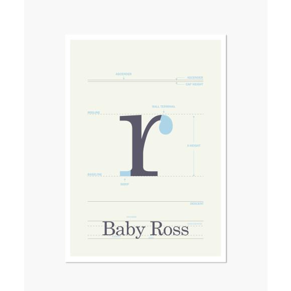 New baby print
