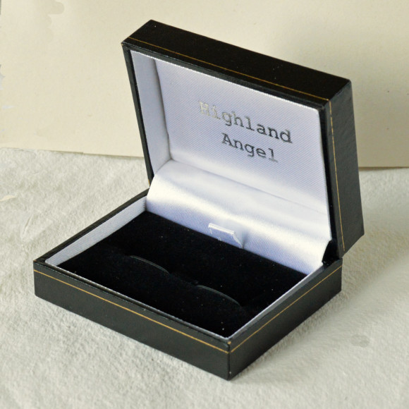 Highland Angel Cufflink Box
