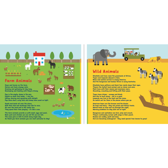 Farm & Wild Animals - sample page